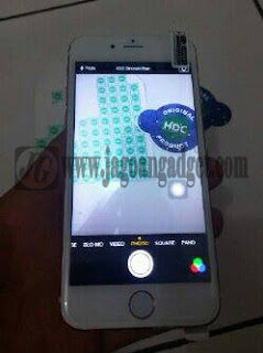 Contoh kamera iPhone 6S replika HDC 16MP