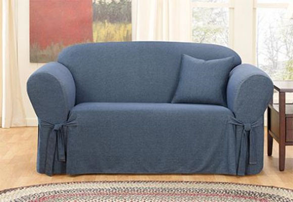 Marzua fundas para sof s sillas mesas y renovar la - Telas para cubrir sofas ...