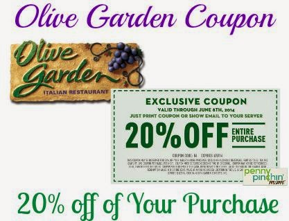 Olive garden coupons in sunday paper
