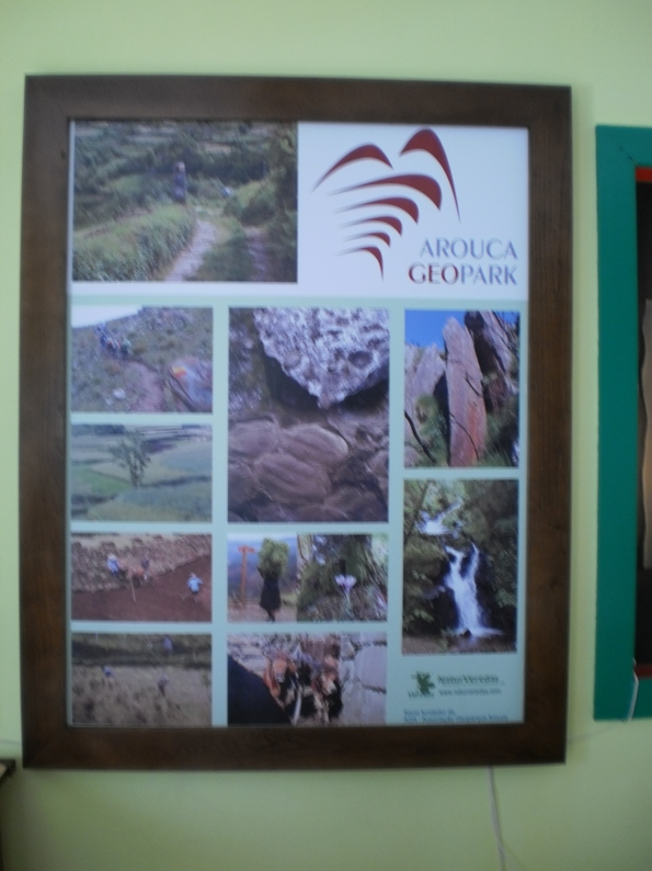 Quadro do Arouca Geopark