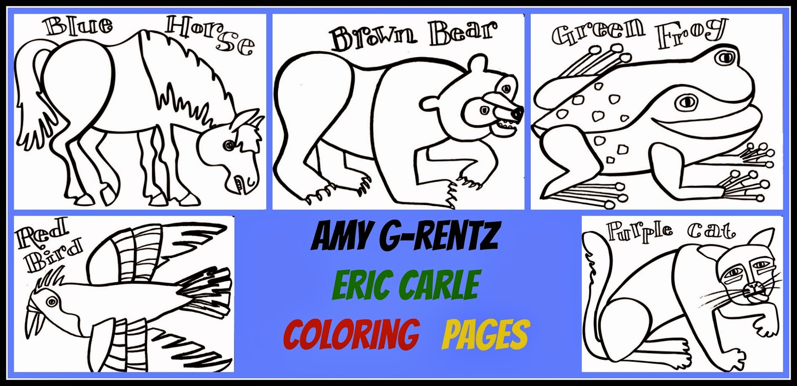 eric carle printable coloring pages - photo#24