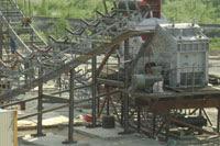 Gamber Mesin jaw roller gratory Stone Crusher Plant