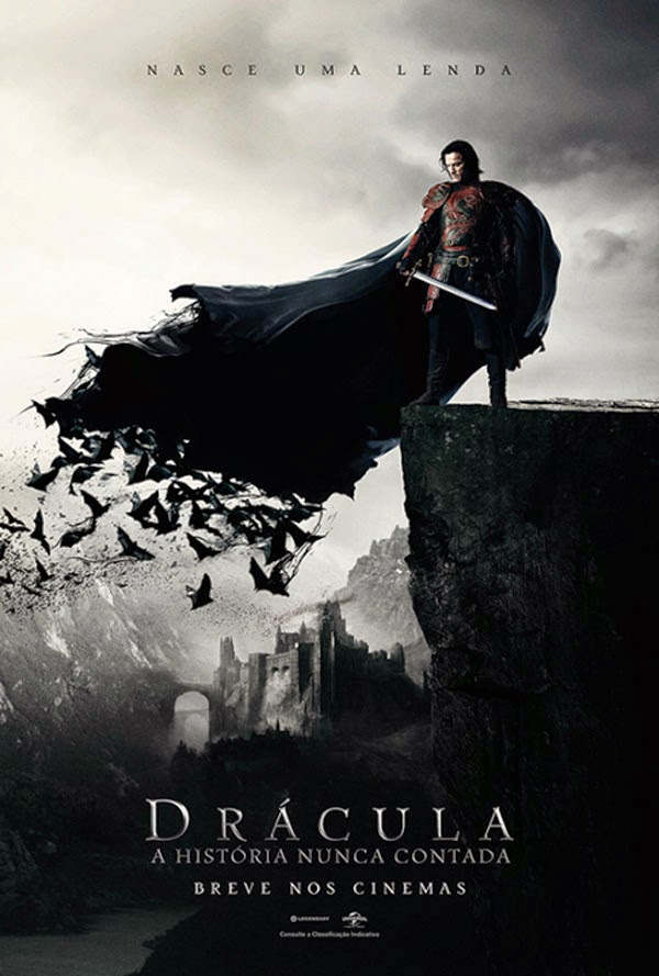 Drácula: A História Nunca Contada tem trailer divulgado no youtube