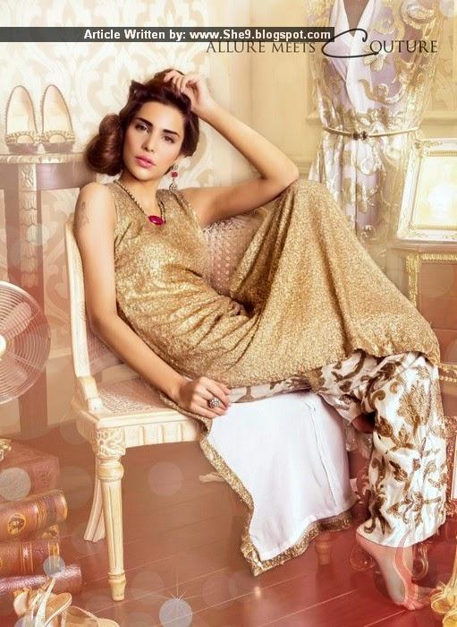 Sehrish - Fancy Formal Designer Couture