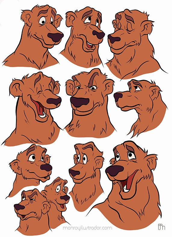 Character design (Expressions) Basic colors