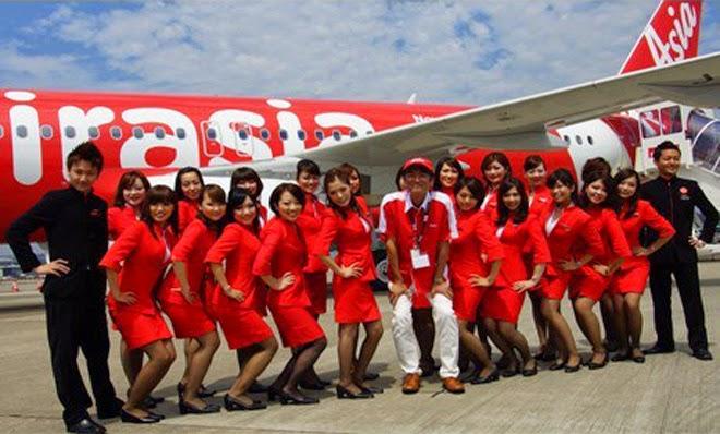Jawatan Kerja Kosong Pramugara & Pramugari Air Asia logo www.ohjob.info disember 2014