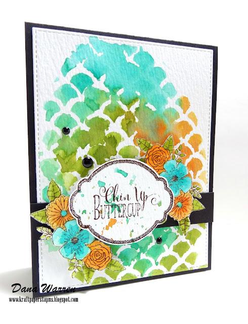 Dana Warren - Kraft Paper Stamp - Darcies Heart & Home