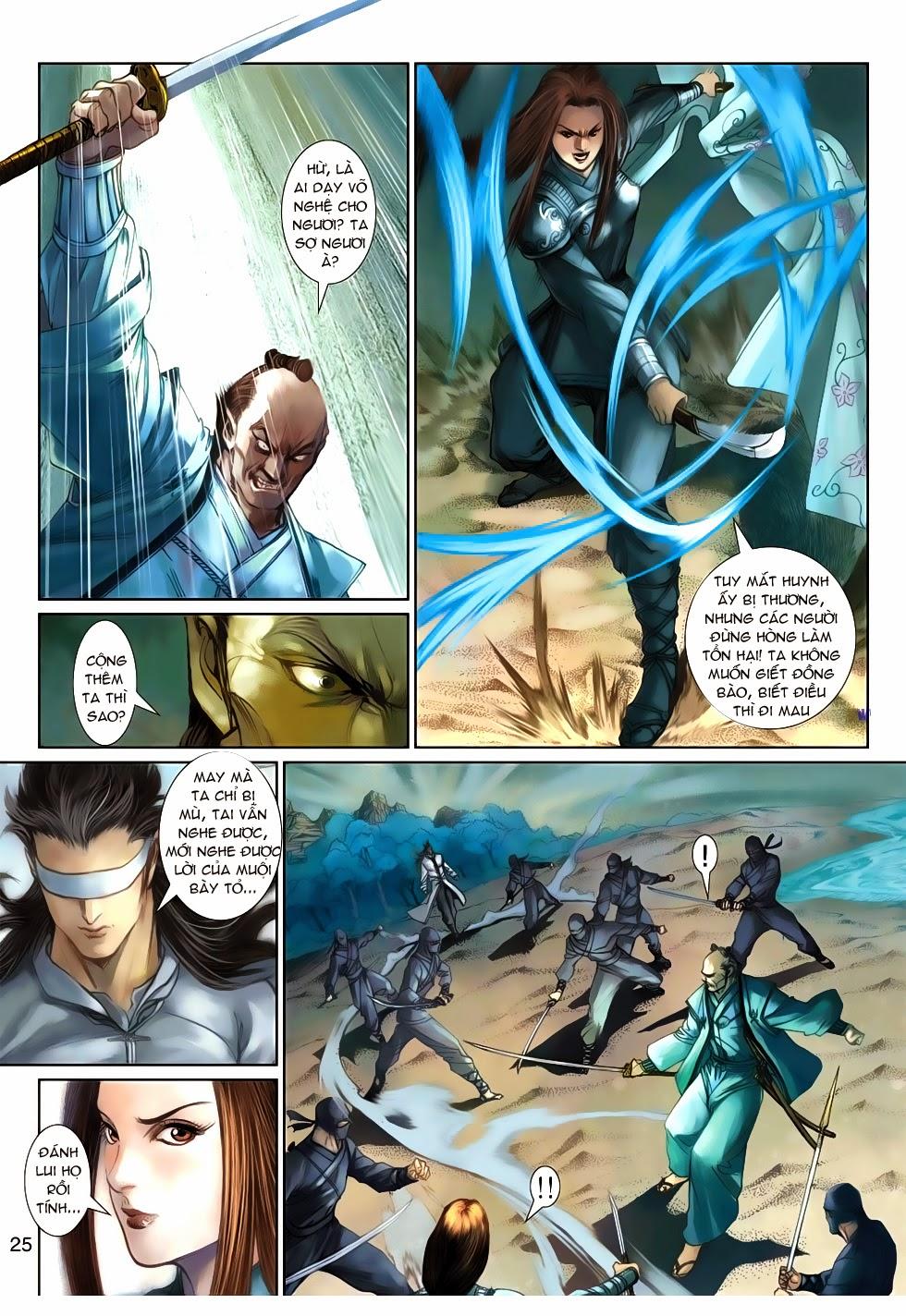 Thần Binh Tiền Truyện 4 - Huyền Thiên Tà Đế chap 9 - Trang 25