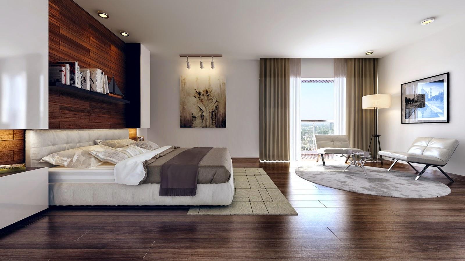 Yatak odası tasarımlarında şık detaylar