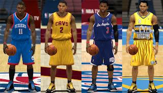 NBA 2K13 Missing White Alternate Jerseys Patch