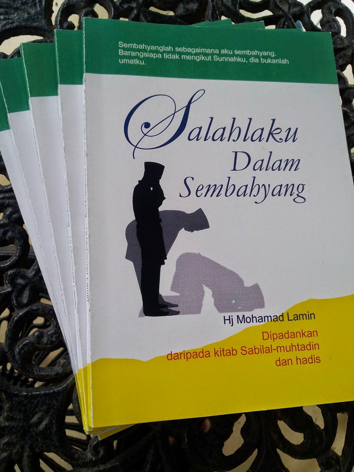 Buku Salahlaku Dalam Sembahyang