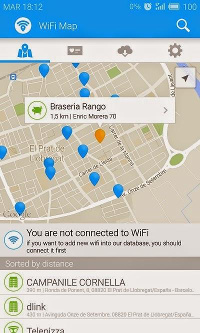 YoAndroideo.com: WiFi Map Pro, puntos WiFi y contraseñas por todo el mundo