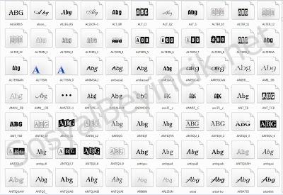 Yazı Fontları
