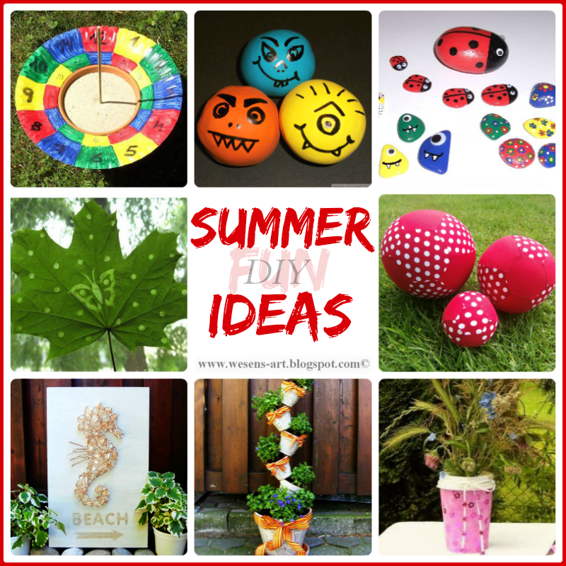 Summer Ideas     wesens-art.blogspot.com