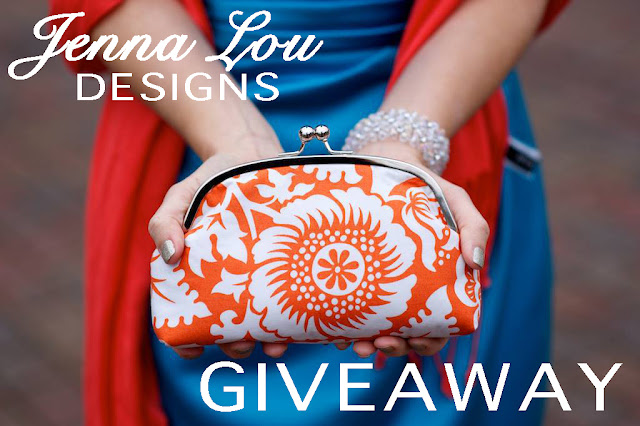jenna lou designs custom bridal clutch purse giveaway