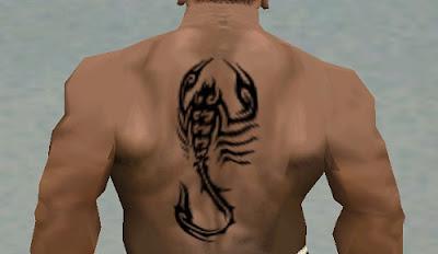 Mod Tatto Scorpion