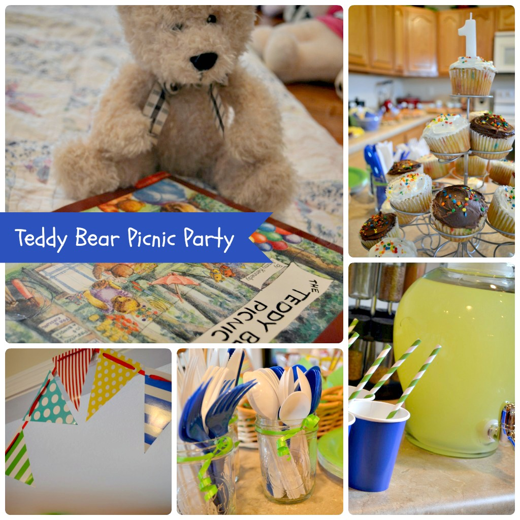 The Life of Jennifer Dawn: A Teddy Bear Picnic Birthday Party