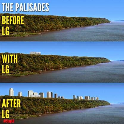 the new jersey palisades essay