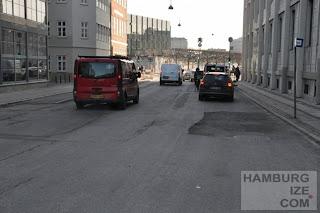 Kopenhagen, Bremerholm - Radwegebau