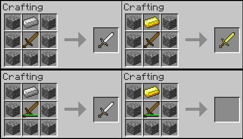 Minecraft Modding Recipes