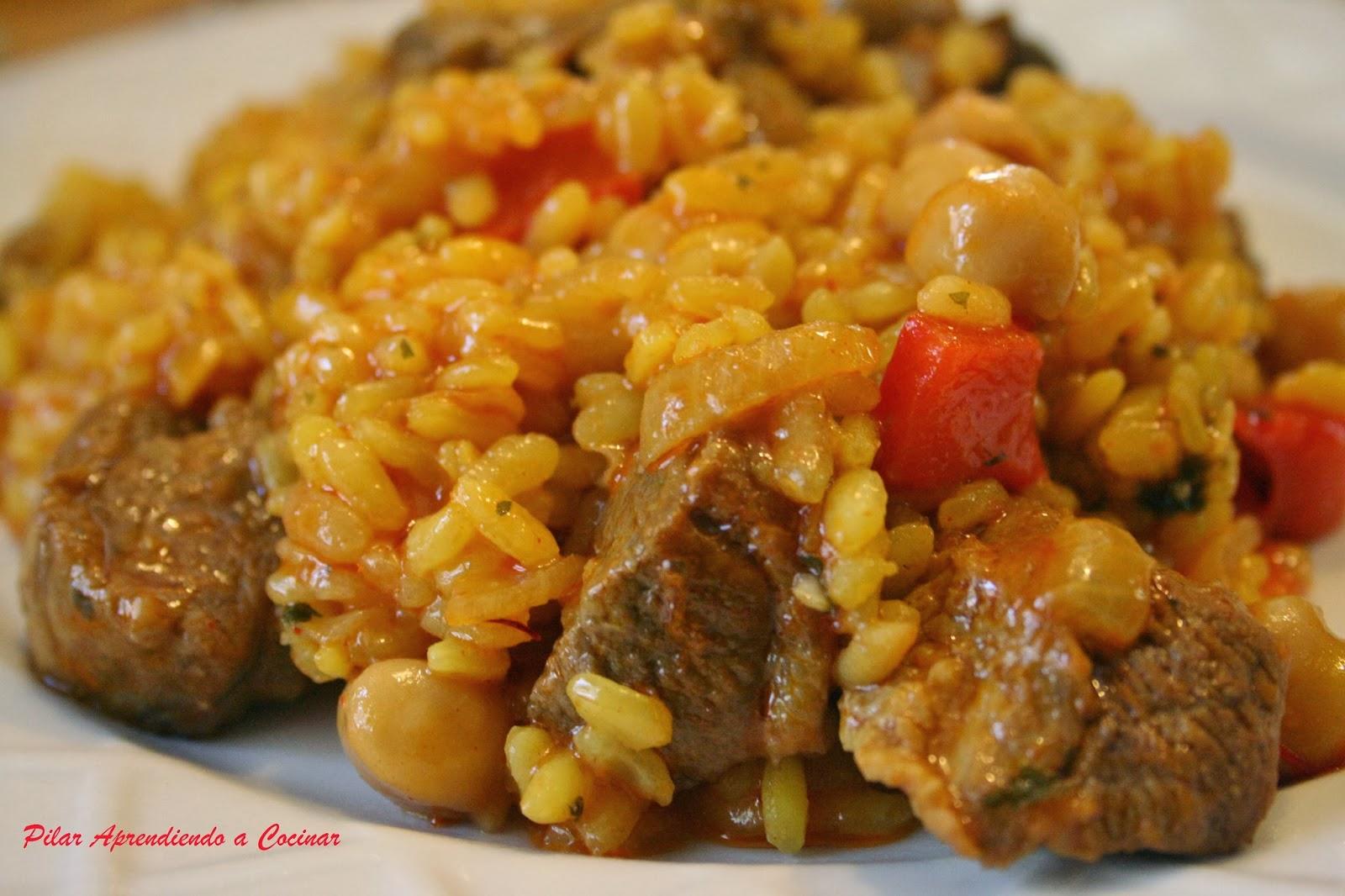 Aprendiendo a cocinar arroz con pato y setas for Cocinar 6 tipos de arroz