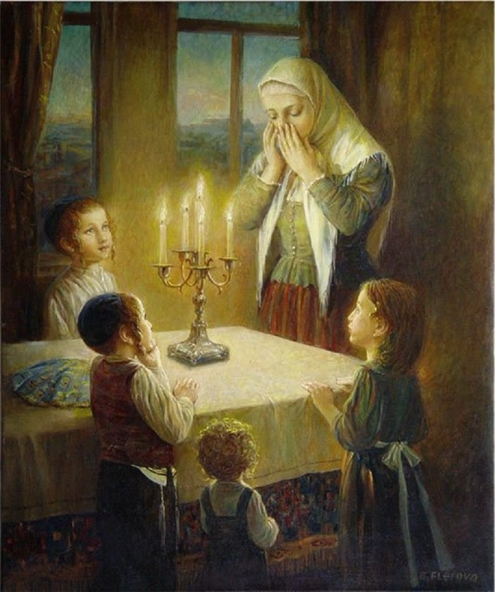 Greeting the Shabbos Queen