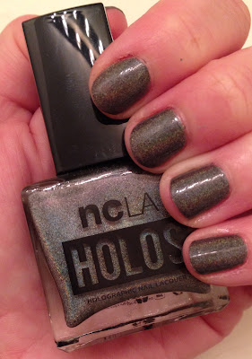 NCLA, NCLA nail polish, NCLA Holos, NCLA From LA To Anywhere Holo, nails, nail polish, nail lacquer, nail varnish, holographic nail polish, mani, manicure, mani monday, #manimonday