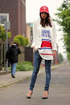 Look Good in a Sports Jersey, Sports Jersey, Luxe Sports, Sports Fan, Sports Fashion, Beauty, Fashion Blog, Fashion, Trending 2015