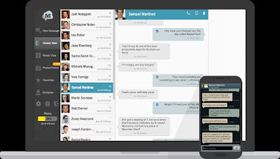 SMS Text Messaging - PC Texting apk