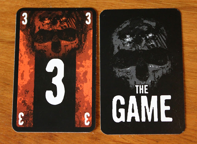 The Game - card artwork - Random Nerdery review