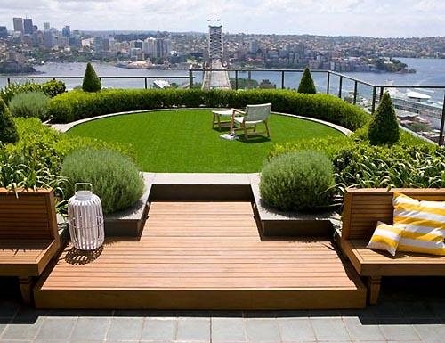 Rooftop Garden Landscaping Design Ideas