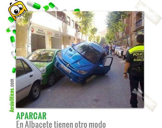 Chistes de Aparcar: Coches en Albacete