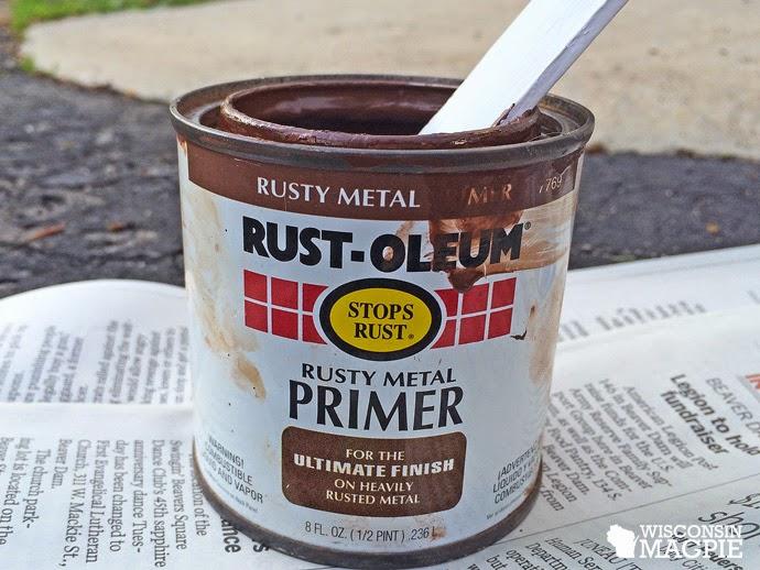 rusty metal primer