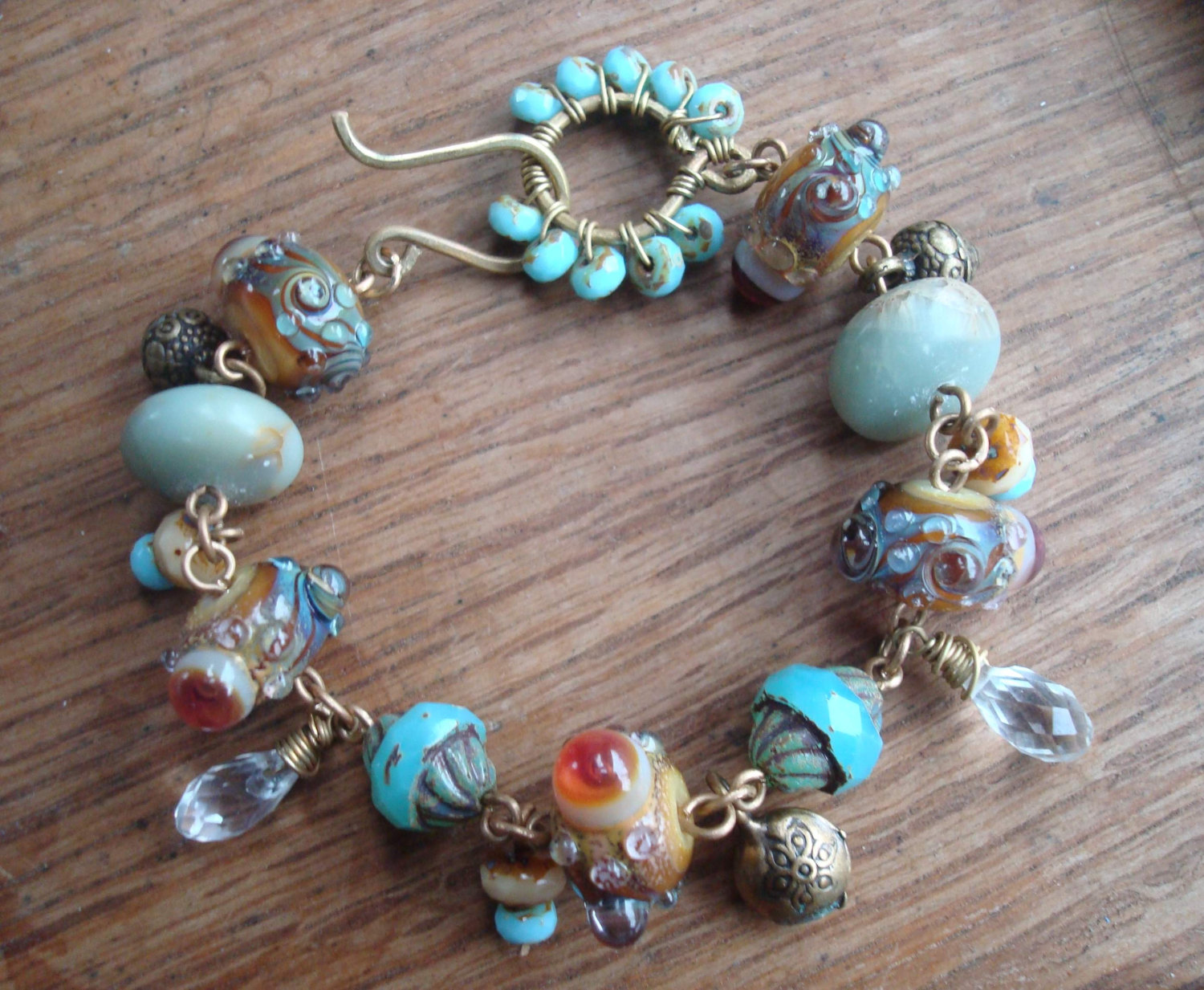 Beady Eyed Bunny: New beads and jewelry and a sale!