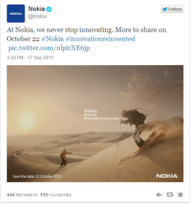 Nokia Will Release Lumia 1520 at 22 October
