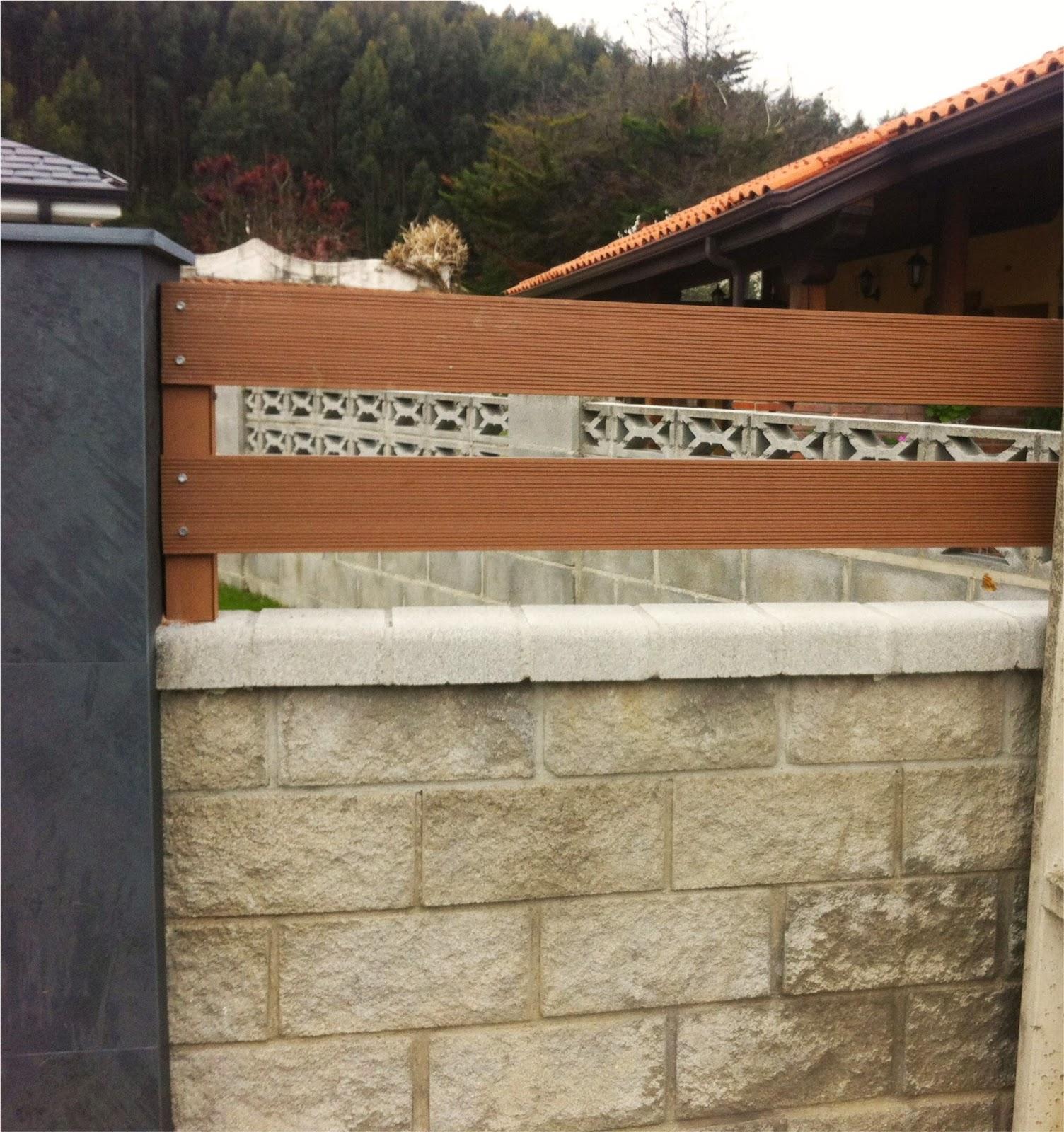 Vallas de jardin cantabria vallas imitaci n madera for Vallas de madera para jardin