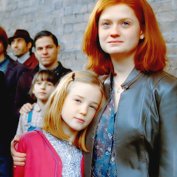 Gina e sua filha Lilian