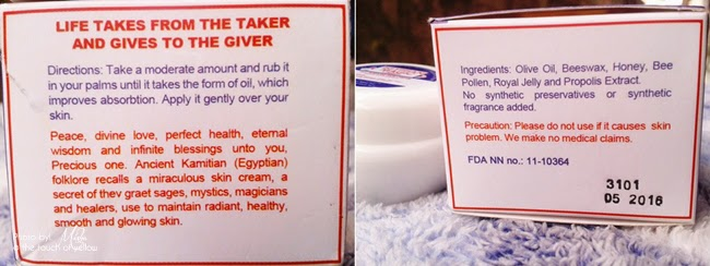 Review: Egyptian Magic Cream - THE TOUCH OF YELLOW - Beauty ...