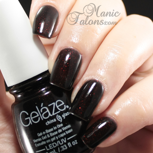 Gelaze Gel Polish Lubu Heels Swatch