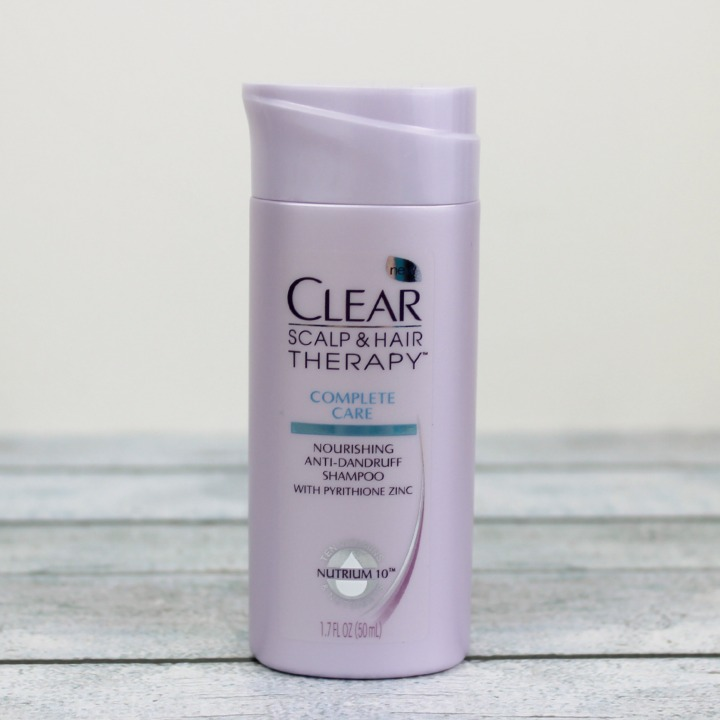 Clear Scalp & Hair Therapy Complete Care Shampoo sample