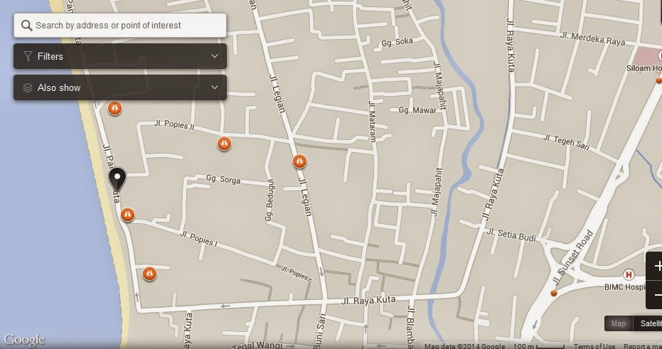 Surf Discovery Bali Map,Map of Surf Discovery Bali Indonesia,Tourist Attractions In Bali,Surf Discovery Bali Indonesia accommodation destinations hotels map reviews photos pictures