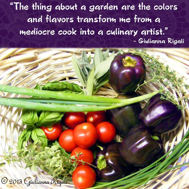Culinary Artist - Organic Garden