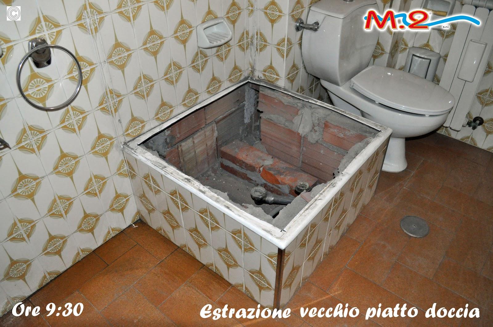 Sostituzione piatto doccia particolare m.2 trasformazione vasca in