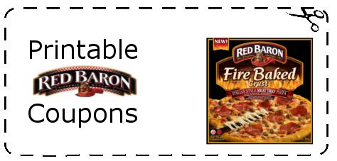YIPPPIE!! There is a new printable coupon for $ off 2 Red Baron Products! Be sure that you print your coupon before it reaches the print limit! Coupons can reach the print limit at anytime! Check out all of the other fantastic coupons that are available while you are printing this coupon! You can print [ ].