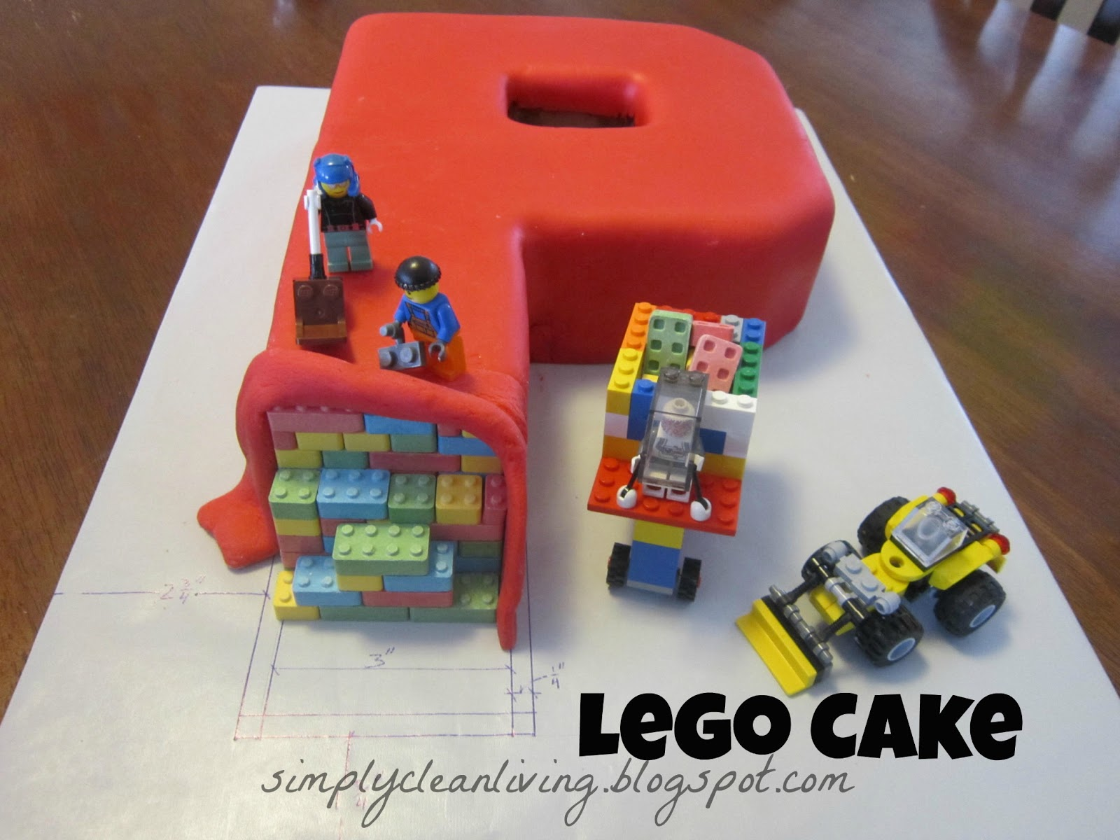 Simply Clean Living: Lego Birthday Party!
