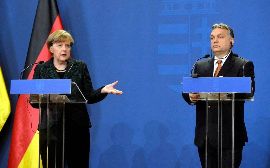 Angela Merkelt, demokrácia, Magyarország, Merkel Budapesten, Orbán Viktor, illiberális demokrácia, Oroszország, Európai Unió, Németország, Vlagyimir Putyin,