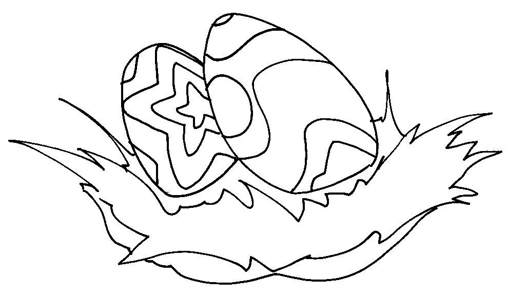 desenhar Ovos feliz páscoa