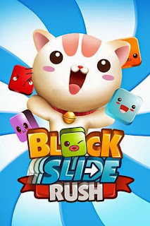 Screenshots of the Block slide rush for Android tablet, phone.