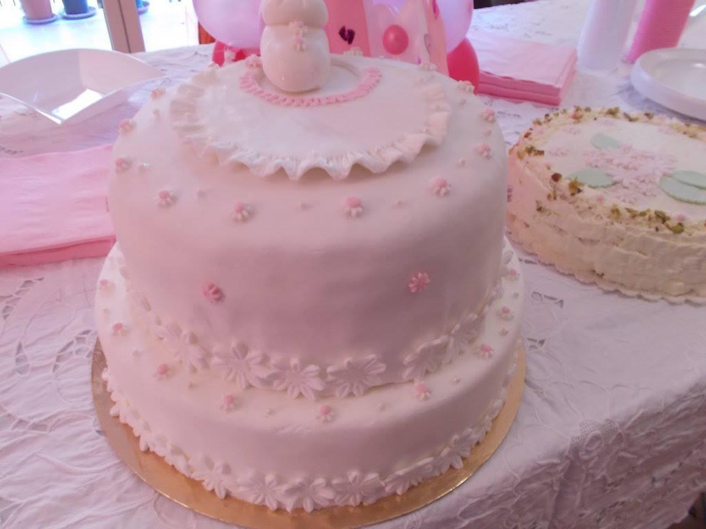 Setteveli 39 s blog torta a due piani per battesimo for Piani di coperta a 2 piani