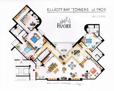Planos de Frasier - cine series y tv